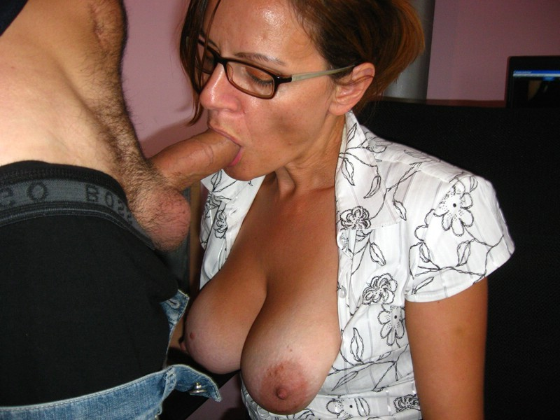 Mature blow job forced